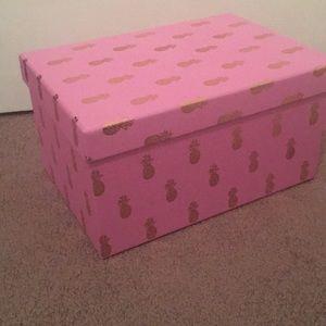 Clementine Pineapple Nesting Box